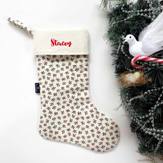 Christmas Stocking - Christmas Holly