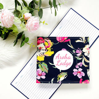 Dreamy Floral on Navy
