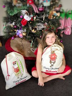 Kiwiana Santa Sacks (SECONDS)