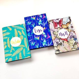 A5 Personalised Diaries