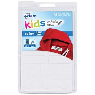 Avery Kids No-Iron Fabric Labels