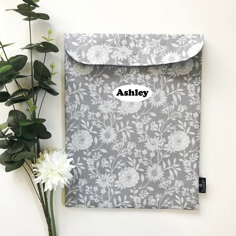Floral on Silver