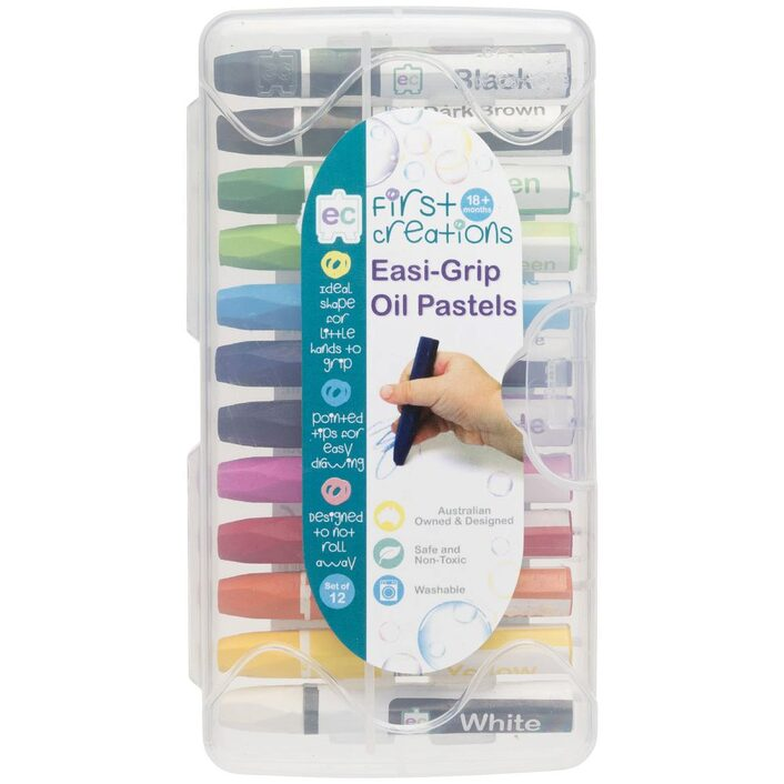 Easi-Grip Oil Pastels