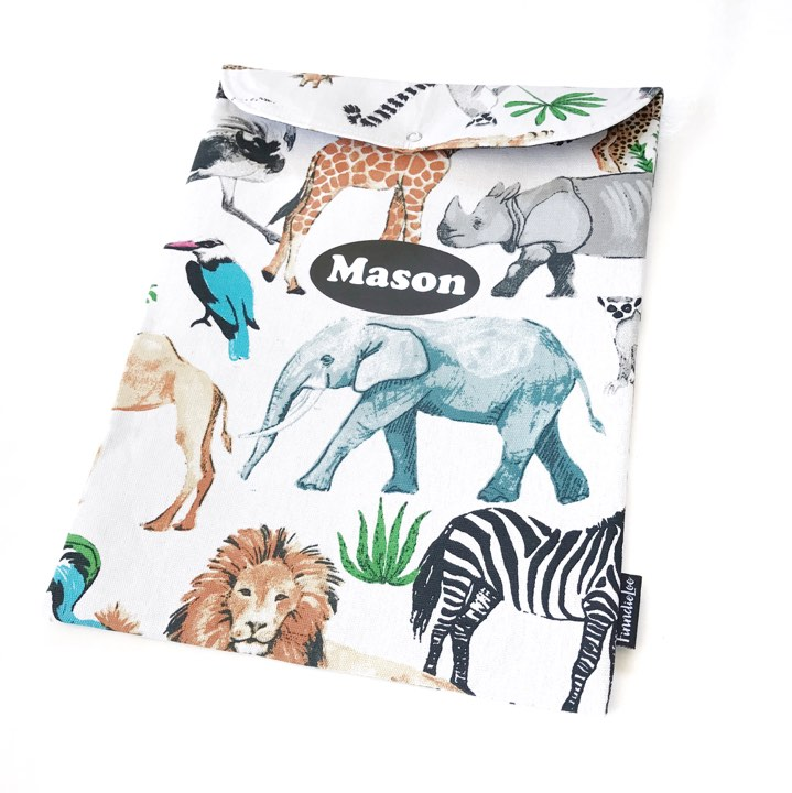 Jungle Animals (Homework Bag)