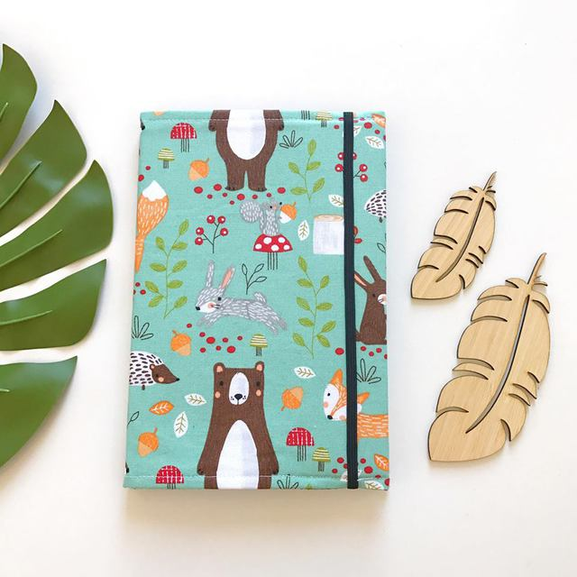 Woodland Animals on Sage